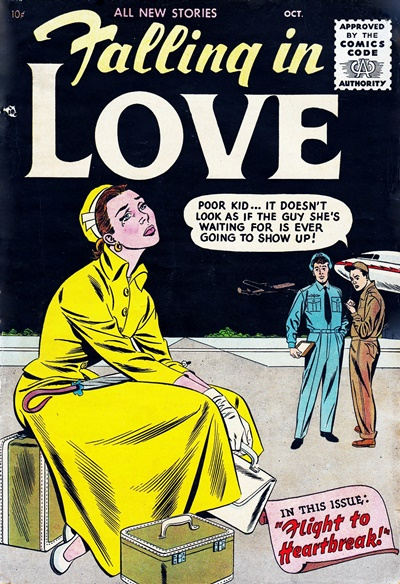 1955 - Falling In Love #1 - Click for Bigger Image in a New  Page