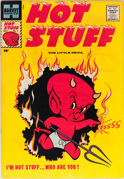 1957 - Hot Stuff, The Little Devil #1 - Click for Bigger Image in a New  Page
