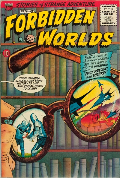 1958 - Forbidden Worlds #74 - Click for Bigger Image in a New  Page