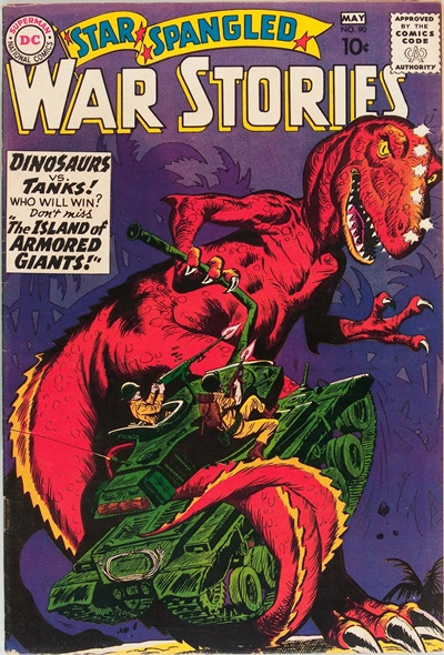 1960 - Star Spanled War Stories #90 - Click for Bigger Image in a New  Page
