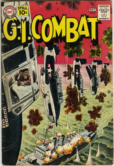 1961 - G.I. Combat #87 - Click for Bigger Image in a New  Page