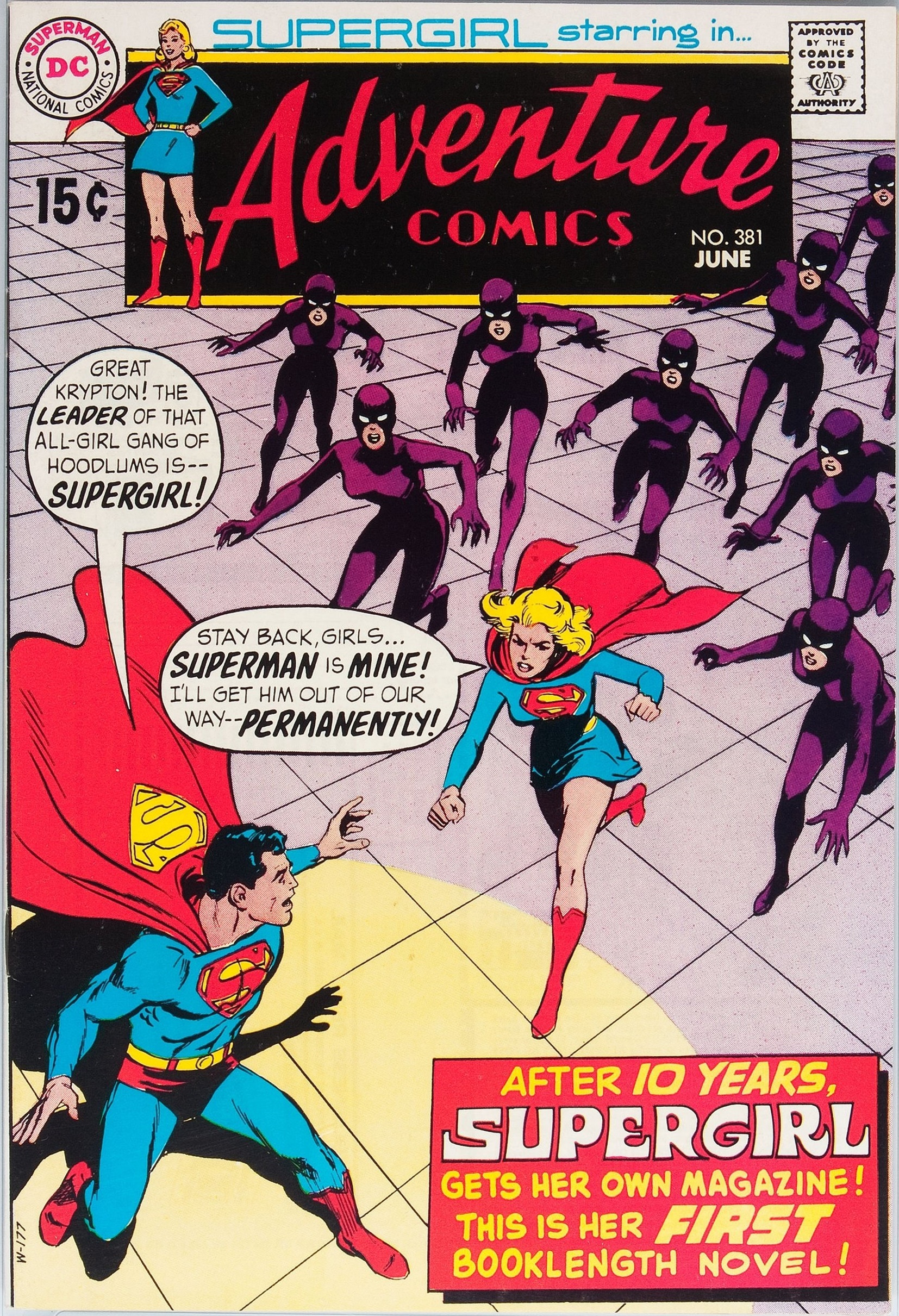 John persons comics for sale - With Adventure Comics 381 1969